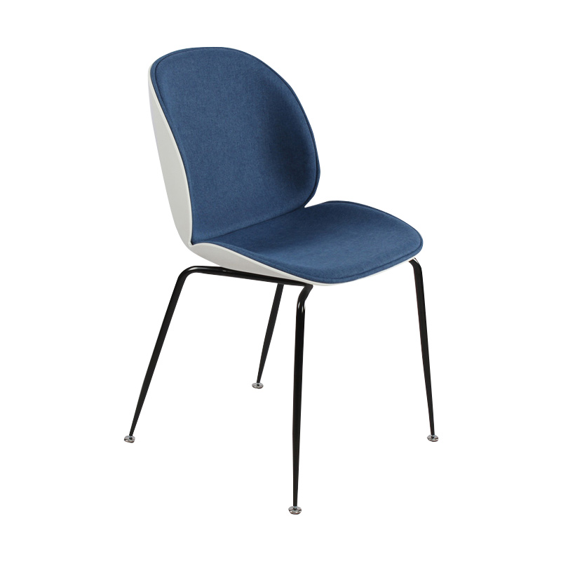 Dining Room Furniture Europe And America Fashion Modern Minimalist Leisure Home Chair Cloth Facing Material Can Be Assembled