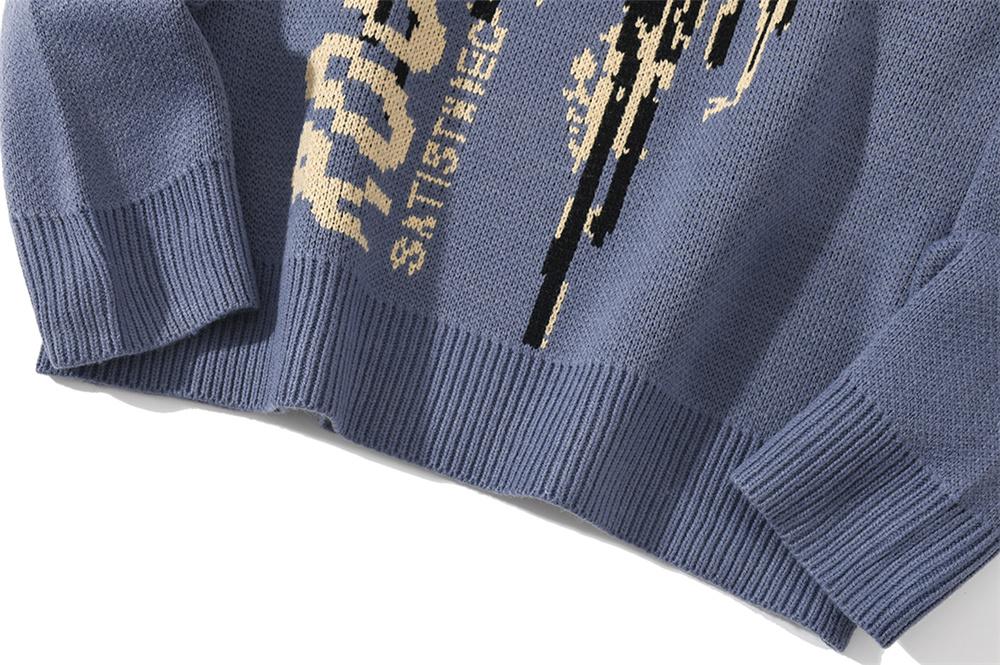 Hip Hop Knitwear Mens Sweaters
