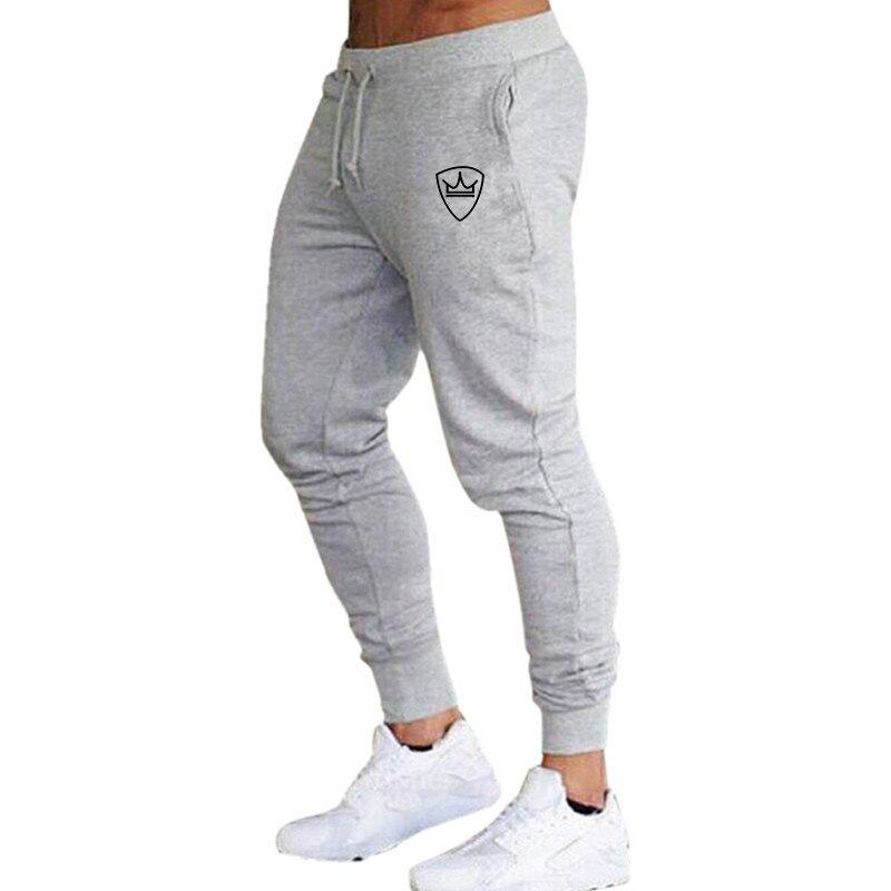 New Men Pants Joggers Sweatpants Jogger Pants Men Casual Pants Brand 2019 Elastic Cotton GYMS Fitness Harem Mens Pants Trousers