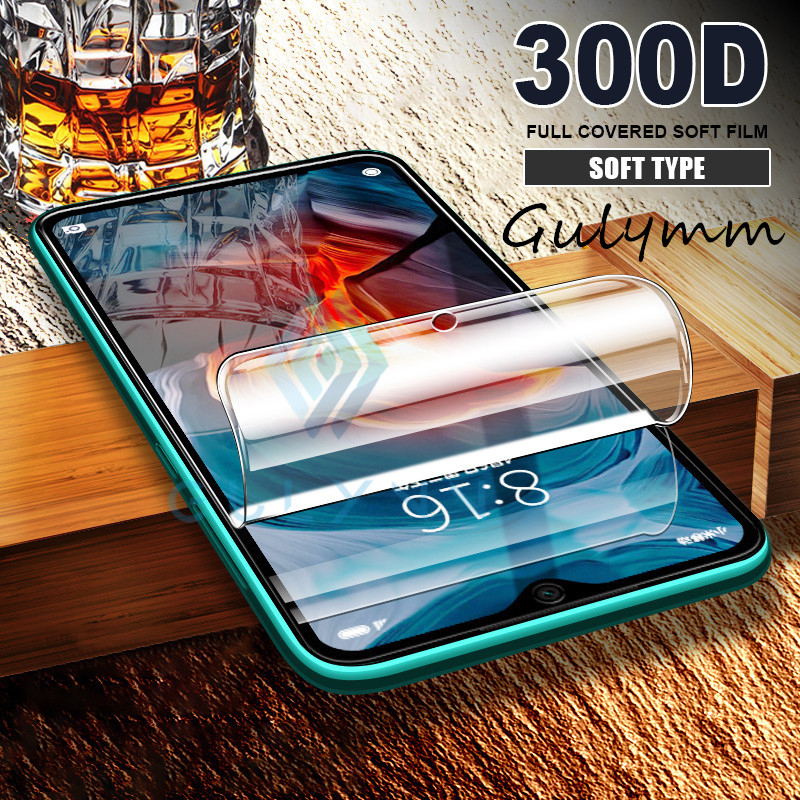 <font><b>300D</b></font> Full Cover Hydrogel Film For Xiaomi Redmi K20 7A Note 5 6 7 8 Pro Screen Protector For Xiaomi mi A2 6X 8 Lite 9T Soft Film image