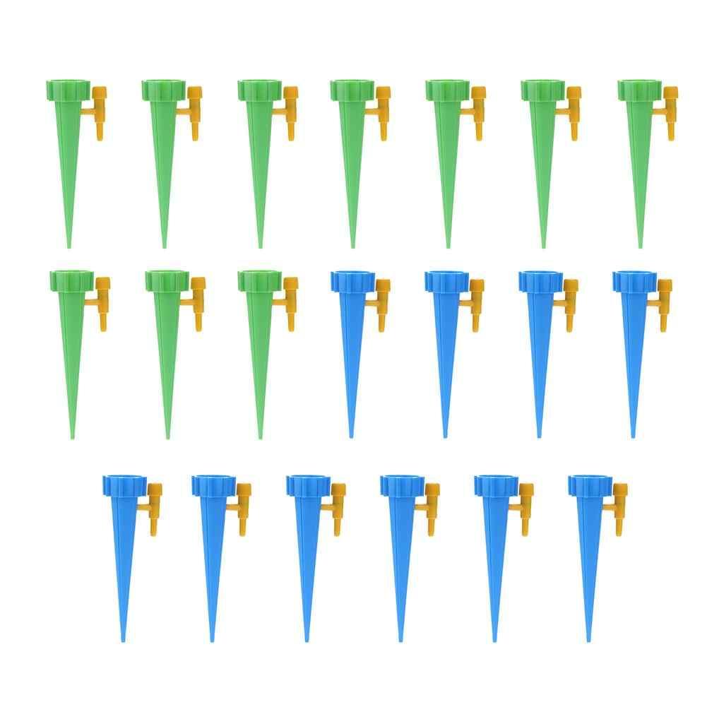 1/6/12 個自動給水スパイク自動点滴灌漑システム観葉植物の花の家庭用給水器ボトルドロップシッピング
