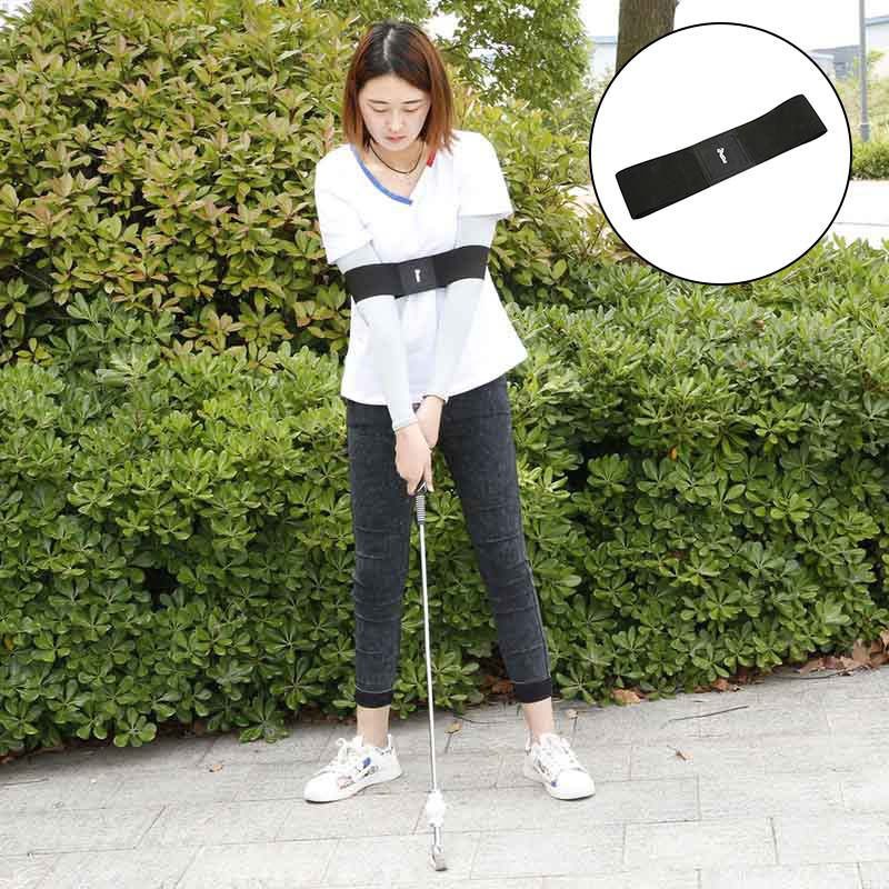 Golf Smooth Swing Training Arm Band Golf Hand Posture Corrector Training Belt SEC88