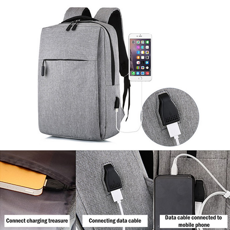 New Laptop Usb Backpack School Bag Rucksack Anti Theft Men Backbag Travel Daypacks Male Leisure Backpack Mochila