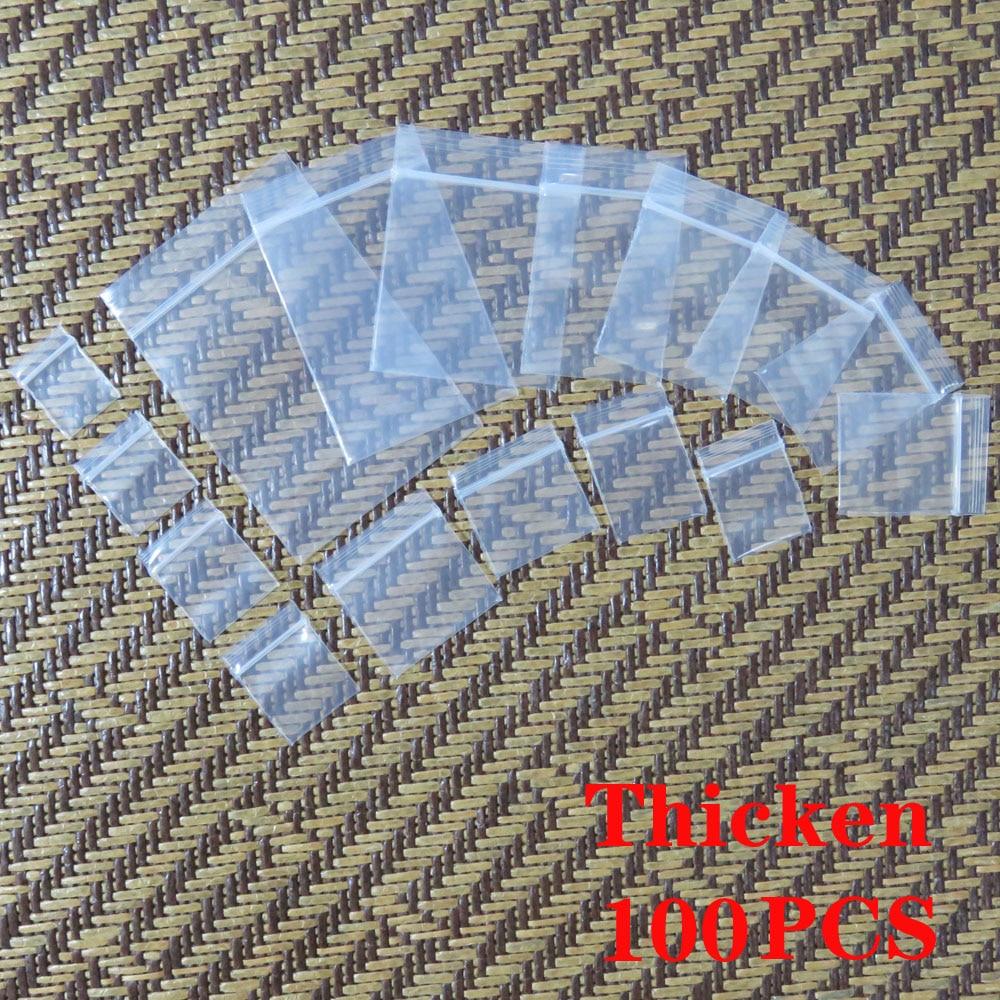 Маленький прозрачный пакет на молнии, Герметичная сумка для хранения продуктов, маленькая сумка для упаковки ювелирных изделий, мини-сумка ...