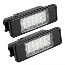 2 шт 18 светодиодный бусины номерной знак светильник лампы для