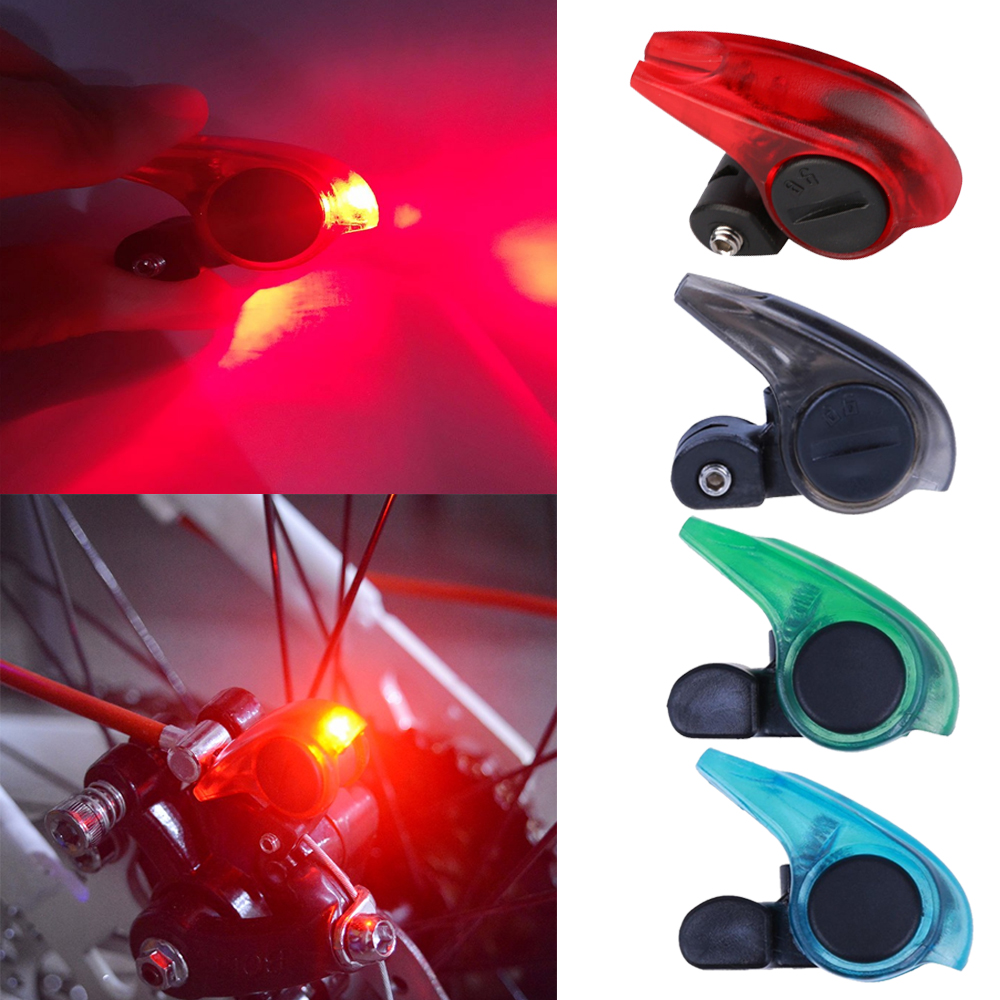 Portable V Brake Light LED Tail Safety Warning Lamp for Bicycle Bike Cycling 1pc