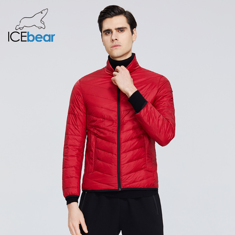 ICEbear 2020 New Lightweight Men's Down Jacket Quality Male Jacket Men Spring Coat Warm Men Clothing MWY19999D