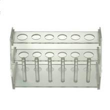 Стойка для труб из органического стекла подставка с 6 отверстиями
