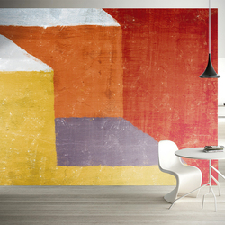 MASAR color stitching geometry large custom mural art space manor background wall paper vitality dynamic wallpaper Heavy color