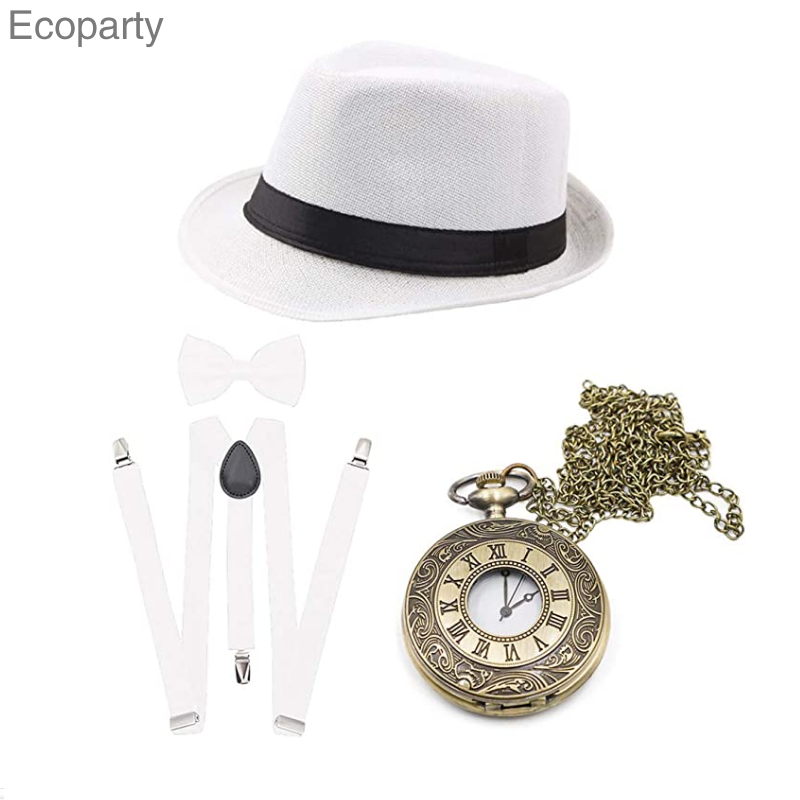 Set And Newspaper Vintage Retro Party Boy Style The 1920s Great Gatsby Place Of Origin Material