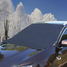 Magnetic Car Sunshade Cover Car Windshield Snow Sunshade Sunscreen Universal Car Windscreen Frost Cover