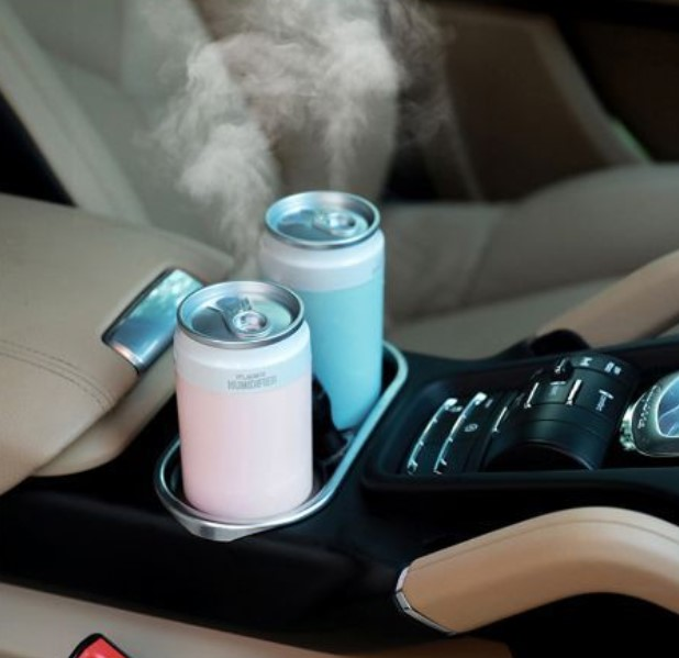 Disinfection Car Capacity Air Humidifier USB Rechargeable Wireless Ultrasonic Aroma Water Mist Diffuser Home Light Humidificador