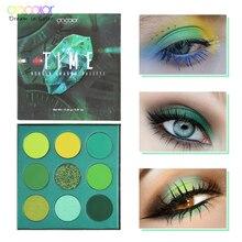 Docolor Nude Eye Shadow Palette Beauty Makeup 9 Colors Matte Shimmer Glitter Eyeshadow Powder Waterproof Pigmented Cosmetic Kit