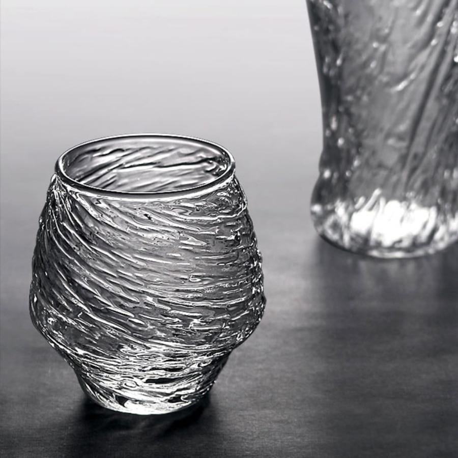Creativity Handmade Glasses Transparent Simple Japanese Barware Juice Glasses Teacup Drinking Copas De Vino Drinkware EK50GC