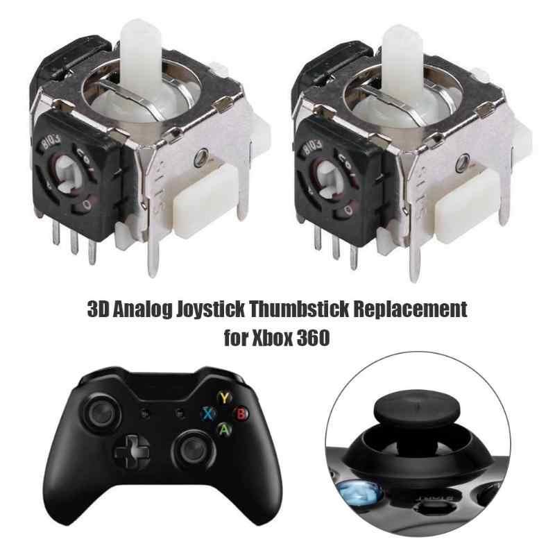 2 adet 3d analog joystick Thumbstick sensörü modülü Xbox 360 denetleyici destek Dropshipping
