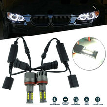 Anneaux Angel Eye ampoules pour BMW E92 F01 F02 328i 335i 528i lampes 6500K pièces(China)