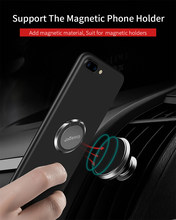 Essager Finger Ring Holder For iPhone XS Max Samsung S10 S9 Mobile Cell Phone Ring Grip Stand For Smartphone Magnetic Car Holder(China)