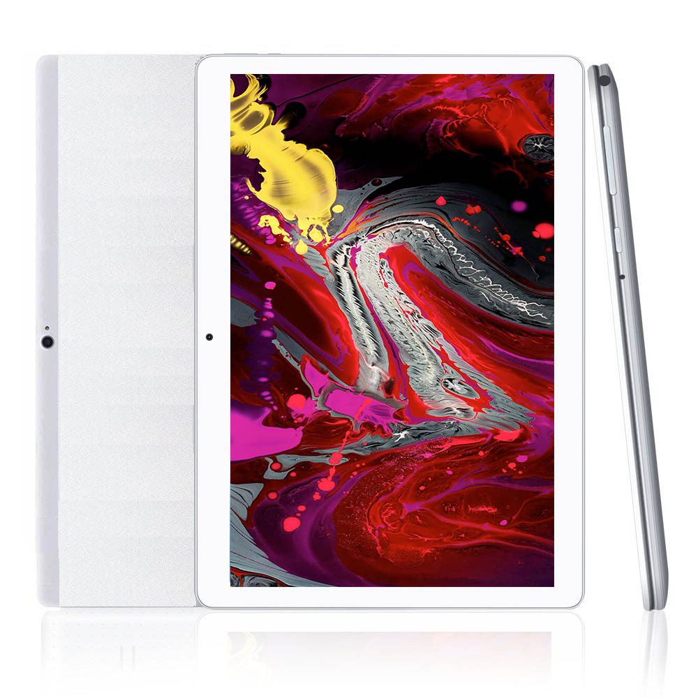 10.1 Inch Tablet Pc Android Tablet 1280*800 IPS 4GB+64GB Dual SIM 2G/3G Tablet Quad Core Android 8.0 WiFi