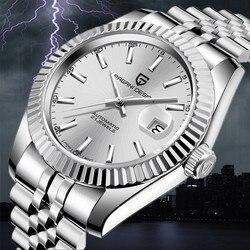 2020 Новые Фирменные автоматические механические мужские часы PAGANI из нержавеющей стали, деловые военные водонепроницаемые часы Relogio Masculino