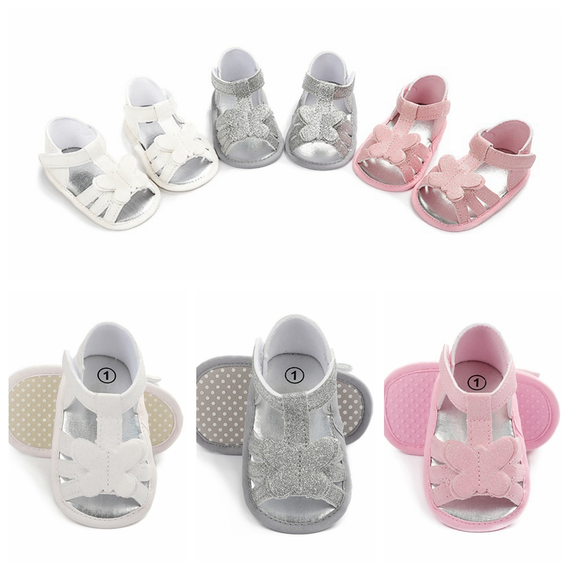 21 New Children Summer 0-18M Newborn Infant Baby Girl Princess Floral Sandals Sneakers Toddler Soft Crib Walkers Shoes
