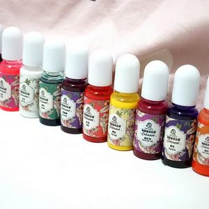 Image 2 - 1Set 14 Colors Epoxy Resin Color Pigments Oily Colorants Translucent Non Toxic DIY Jewelry Accessories Nice Gift For Adult Kids