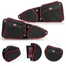 KEMIMOTO пассажирские боковые дверные сумки для хранения левый и правый UTV для Polaris RZR XP 1000 EPS SxS 4x4 2019 2020