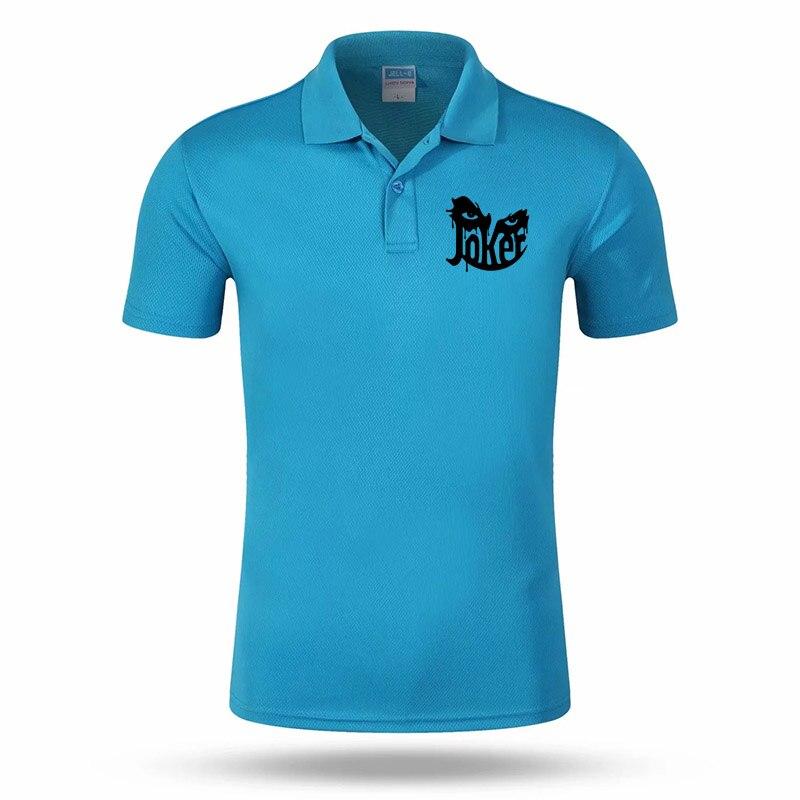 2019 Joker Cool Fashion Brand POLO High Quality Quick-drying Man Polo Shirt Personality Creative Print Short-sleeved Shirt #154