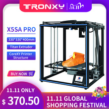 Tronxy X5SA PRO 3D Printer Structure Kit diy Auto level impresora control board Aluminium Profile 3d color printers tpu Filament
