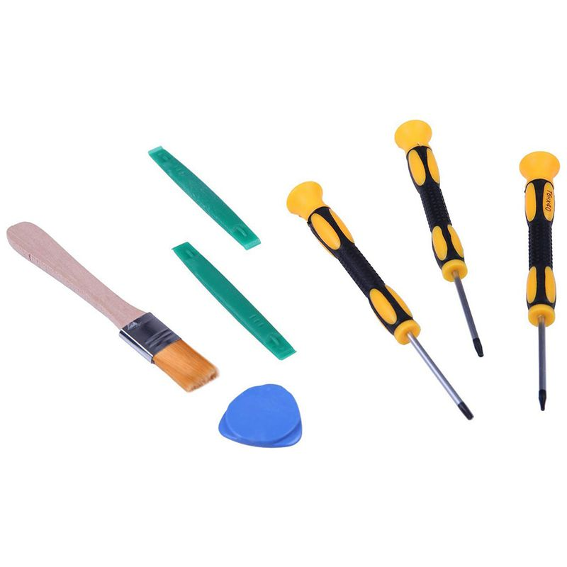 Набор инструментов для One / S / X 360 PS4 и PS3 7 в 1 Набор инструментов для контроллеров и консолей T6 T8H и T10H размеров
