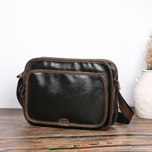 Korean Mens Single Shoulder Bag Business Small IPAD Trend File New Simple Leisure