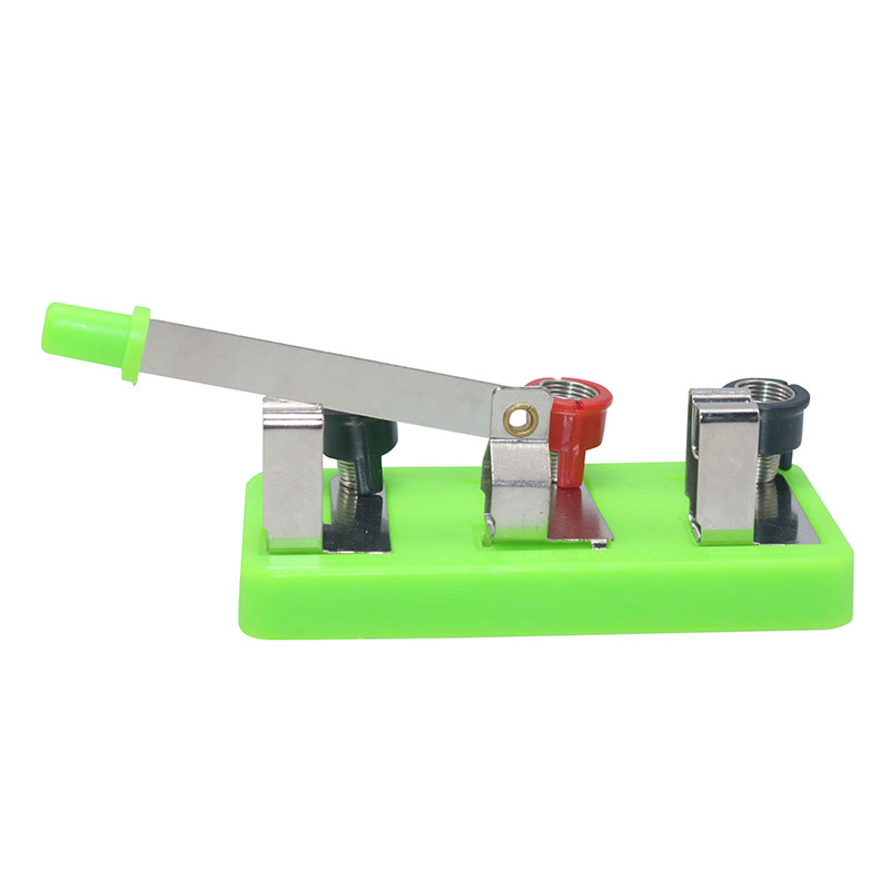 1 Pcs Single Pole Double Throw Switch Physical Electricity Laboratory Equipment Puzzle Science Teaching Equipment