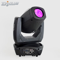 Led Moving Head 200W Double Gobo Wheels With Spot Beam Wash Prism 3In1 Function For Dj Bar Lighting