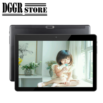 Multi-touch Glass Screen  10.1 inch 2.5D  screen Android 7.0 Dual SIM card Dual Camera  tablets kids tablet 3G Wifi FM GPS