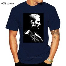 Hannibal Lecter (Mads Mikkelsen) (serial telewizyjny) koszulka męska czarna