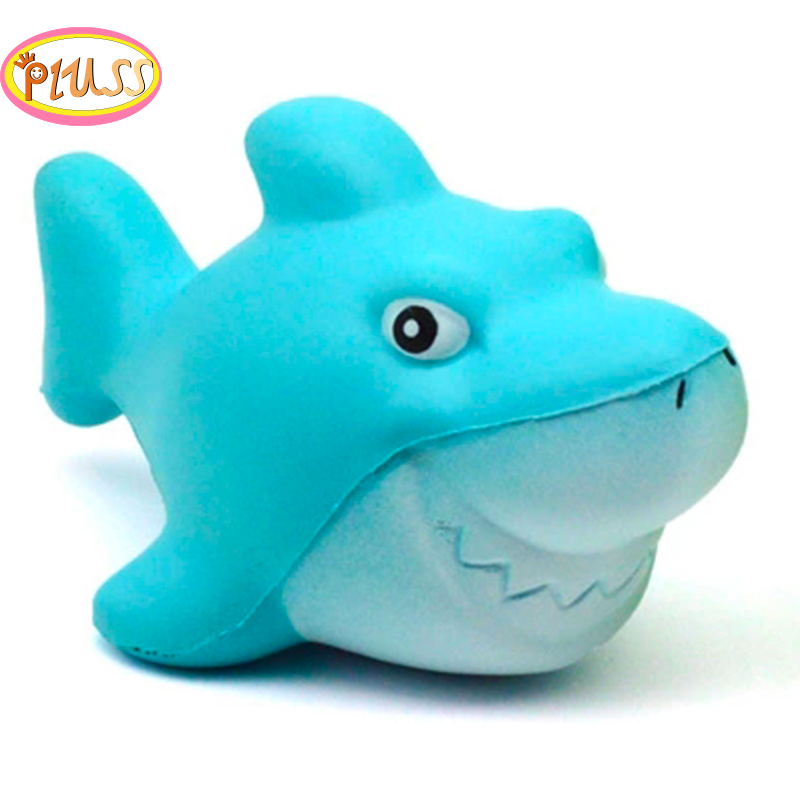 Squishy Kawaii Shark Stress Reliever Scented Super Slow Rising Kids Toy Squeeze Toys Squishy Slow Rising Squeeze Toys Collection