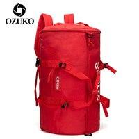 OZUKO Sporttasche Wasserdichte Fitness Tasche Sport Unisex Tasche Outdoor Fitness Tragbare Handtasche Ultraleicht Yoga Gym Sport Rucksack Herren