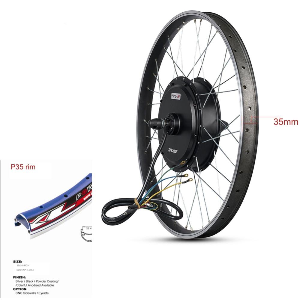 MXUS E Bike Kit Rear Wheel motor 4860V72V90V 3000W Electric Bike Conversion Kit High Speed Brushless Hub Motor XF40 2629 inch