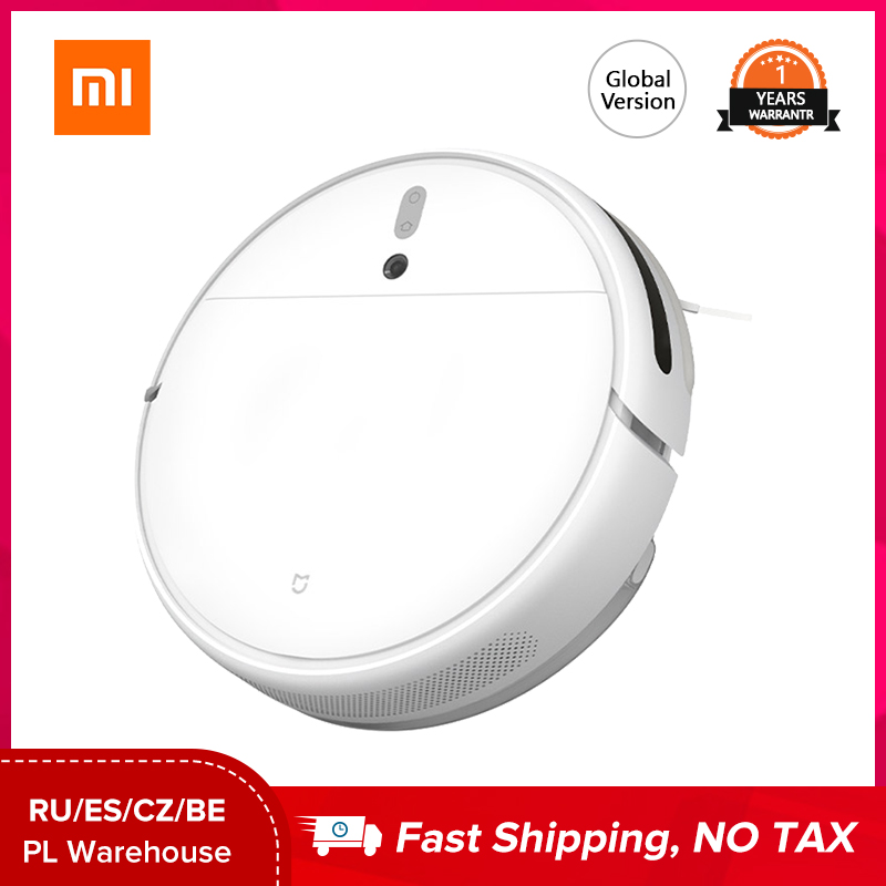 Xiaomi Mijia 1C Vacuum Cleaner robot mop Cordless Sterilize 2500PA Smart Appliance for Sweeping and Mopping Carpets Hard Floors|Vacuum Cleaners| - AliExpress
