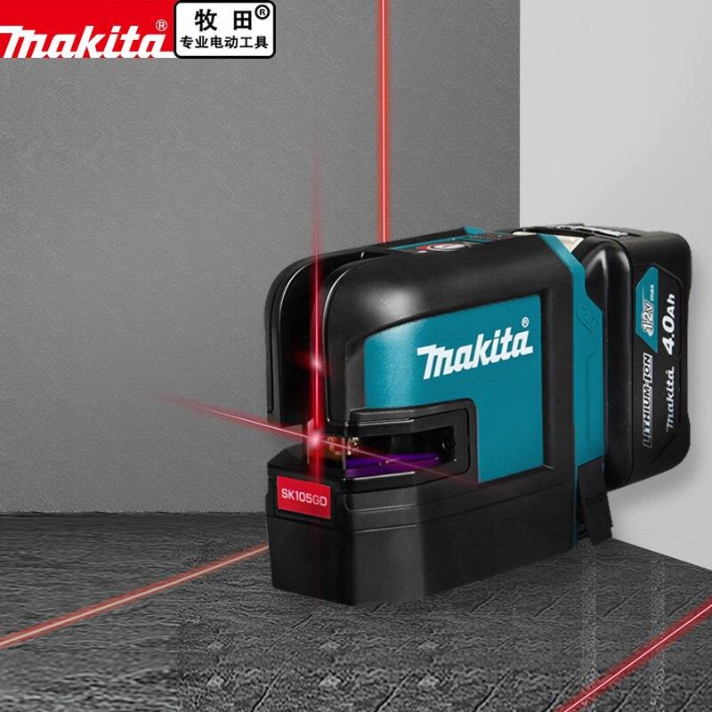 Makita SK105DZ SK105GD 10.8V 12V Max CXT Green Cross Liner Laser