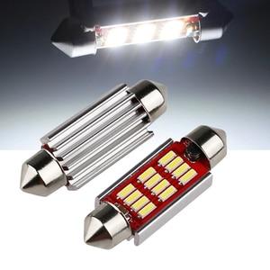 10pcs Festoon Canbus 31mm 36mm 39mm 41mm C5W 4014 LED Bulb C10W Trunk bulbs Doom Reading Lamp Car Interior Light 12v(China)