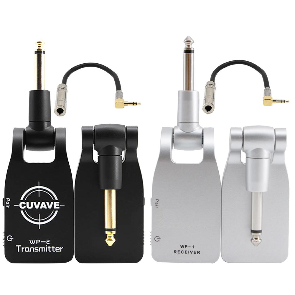 Portable Wireless Guitar Audio Transmitter Receiver System Digital Transmitter Receiver Electric Guitar Bass Musical Instrument4