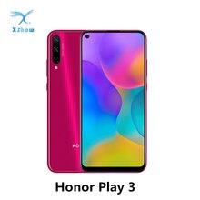 Jeu dhonneur 3 téléphone portable jeu dhonneur 3 6.39 pouces Kirin710F Octa Core Android 9.0 déverrouillage du visage GPU Turbo 3.0 téléphones portables