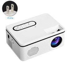 Audio Video Meeting Led 1080P HD Teaching Home Theater Mini Projector Multifunct