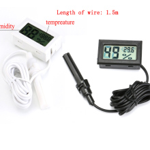 Профессиональный мини ЖК-цифровой термометр гигрометр Влажность Температура Датчик влажности Измеритель Температуры внутренний зонд