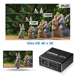 Image 5 - 2020 새로운 4K 60Hz HDMI 분배기 2.0 HDMI 2.0 쪼개는 도구 1x2 쪼개는 도구 HDMI 2.0 4K 지원 PS4 영사기를위한 HDCP 1.4 UHD 증폭기