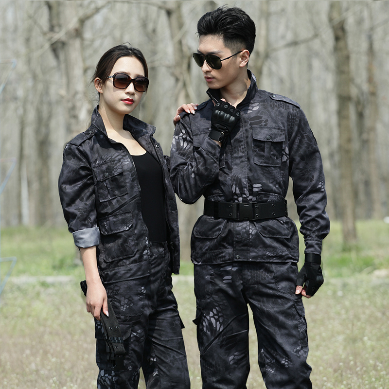 Mens Army Military Uniform Camouflage Clothes Tactical Combat Suit Airsoft War Game Clothing Shirt + Pants Hunting Famale Sets