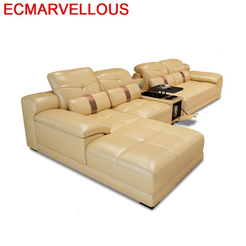 Couch Sectional Oturma Grubu Divano Asiento Home Kanepe Puff Para Sala Leather Set Living Room Furniture Mobilya Mueble Sofa