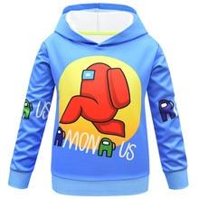 Coats Costume Tracksuit Tops Among Us Kids Boys for Teen Girls Sweatshirt Children's