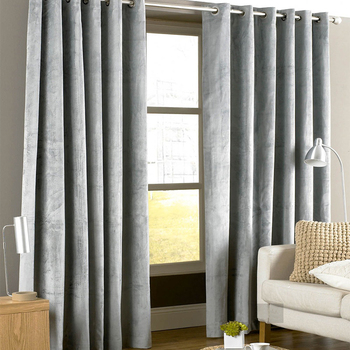 American Style Italian Flannel Velvet Curtains for Living Room Window Solid Color Soft Curtains for Bedroom Blackout Curtain beige polyester flannel europe embroidered blackout curtains for living room bedroom window tulle curtains home hotel villa