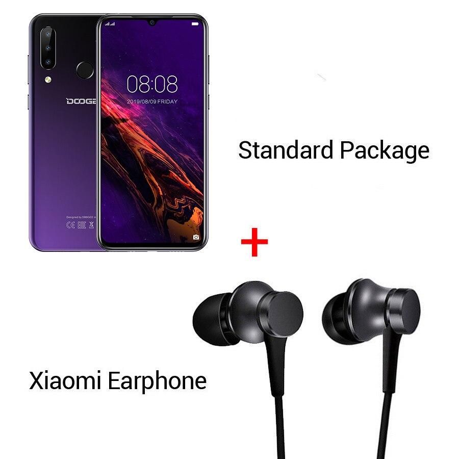 Purple N Earphone